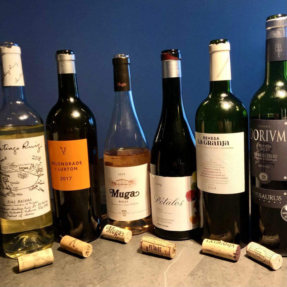 Weinprobe mit spanischen Weinen bei mrkontour
