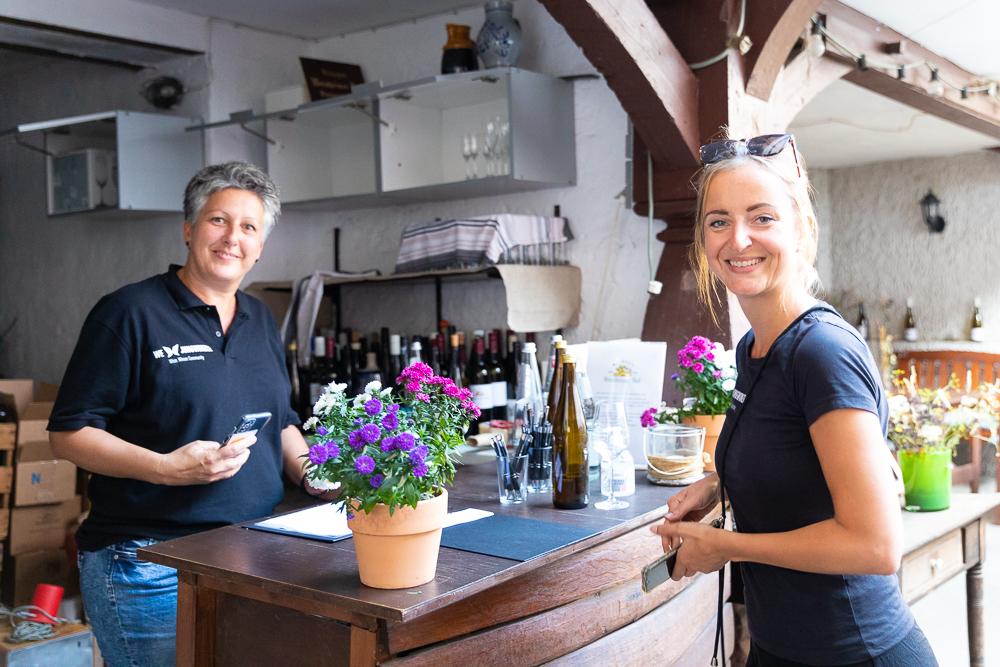 Vinventure Weinprobe mit Barbecue, Team