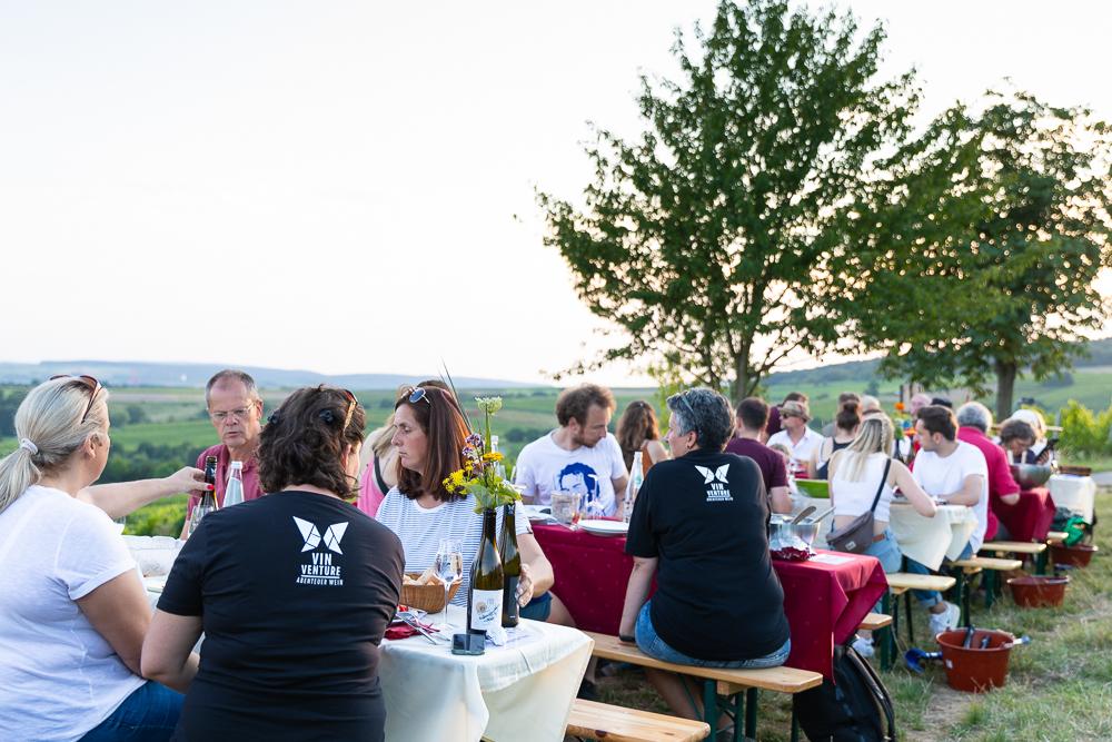 Vinventure Weinprobe mit Barbecue, Vinventure team