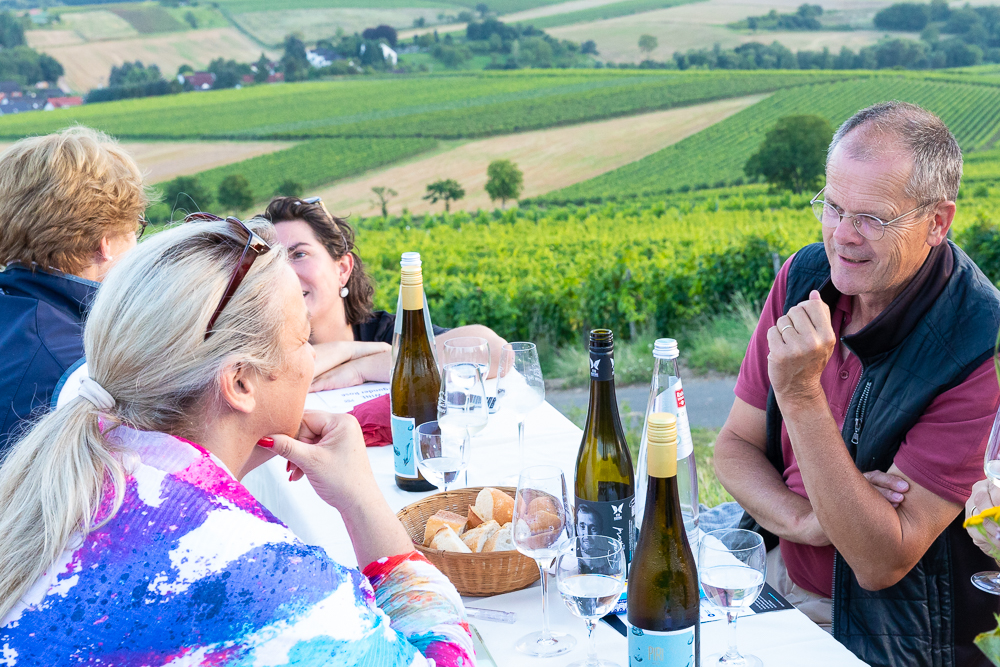 Vinventure Weinprobe mit Barbecue, Diskussion