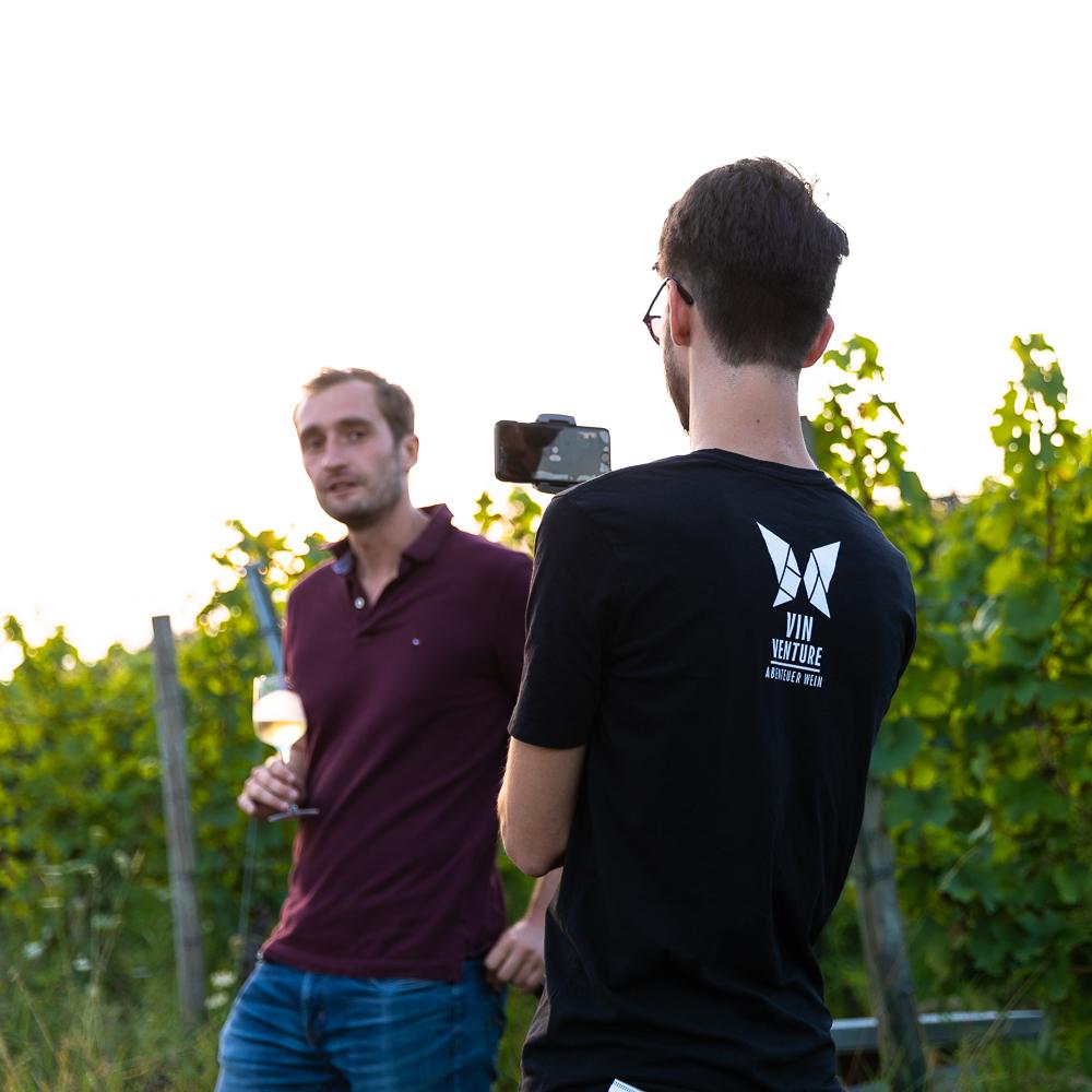 Vinventure Weinprobe mit Barbecue, Vinventure live