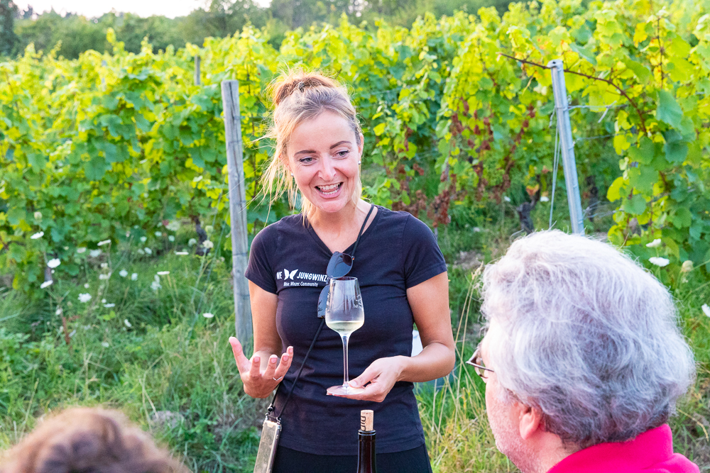 Vinventure Weinprobe mit Barbecue, Wein erklärt